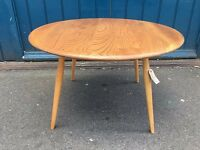 1950s Ercol Coffee Table in Elm & Beech. Vintage/Retro/Mid Century