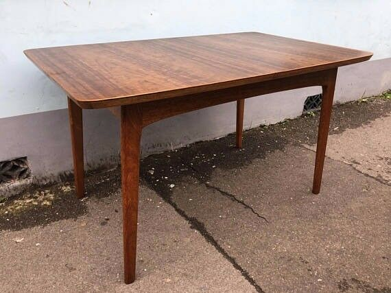 1950 S Alfred Cox For Heals Extending Dining Table In