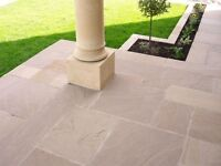 Raj Green Sandstone Paving Patio Pack approx 20m2
