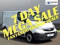 2014 Vauxhall Vivaro 2900 CDTI Diesel white Manual