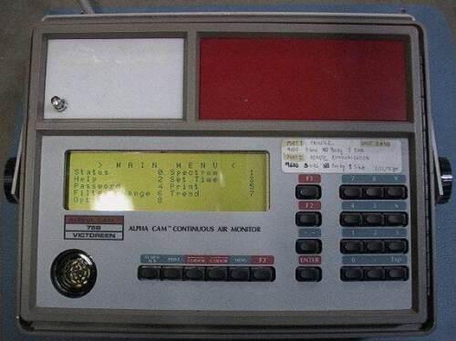 ALPHACAM 758 VICTOREEN Continuous Air Monitor