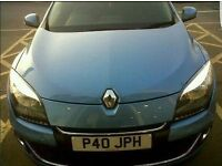 RENAULT MEGANE WITH WARRANTY,LONG MOT, IMMACULATE,52K READY TO DRIVE AWAY