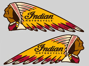 Sitcker-INDIAN-MOTORCYCLE-left-and-right-large-size