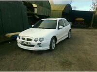 MG ZR + 2.0tdi Hybrid Turbo