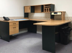 3 Desk Unit or 2 desk corner unit... REDUCED TO GO