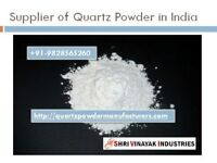 Supplier of Quartz Powder, Quartz Grit/ Sand/ Lumps in India