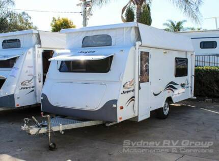 CU674 Jayco Discovery Pop Top with Twin Single Beds Penrith Penrith Area Preview