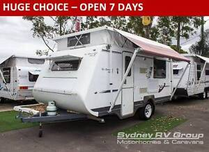 2008 A'van Ronald MKII Pop Top Caravan with Single Beds CU964 Penrith Penrith Area Preview