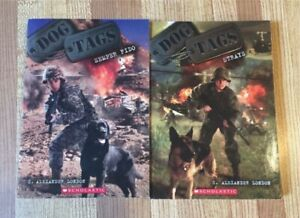 2 Dog Tags Books by C. Alexander London (Ages 10-14)