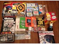 Collection of toys, games, board games