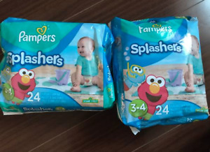 Pampers swimming diapers size 3-4 - $20