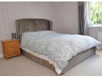 Next King size bed *free mattress*