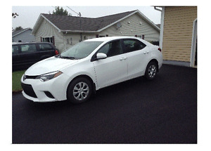 First Two Payments on us!!  Lease Takeover - 2016 Toyota Corolla