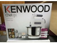 KENWOOD HM680 Chefette Hand Mixer with Bowl NEW SEALED - REDUCED - BARGAIN