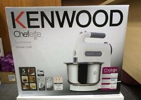 KENWOOD HM680 Chefette Hand Mixer with Bowl NEW SEALED - REDUCED - BARGAIN BAKE OFF