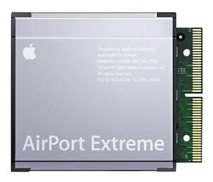 Apple iMac PowerMac PowerBook G4 G5 AirPort Extreme WiFi Card A1026 New