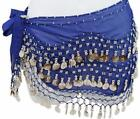Belly Dance Skirt Silver Coins
