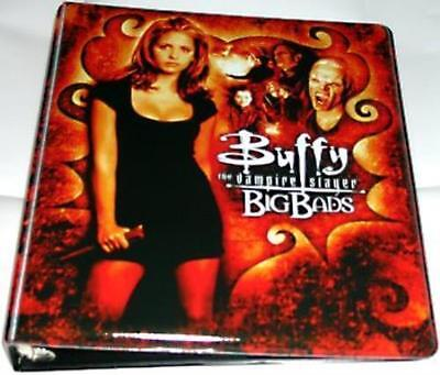 Inkworks Buffy the Vampire Slayer Big Bads Card Padded 3-Ring Binder Album New