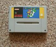 Super Nintendo Games Super Mario World