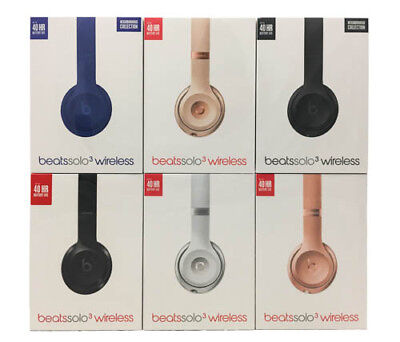 Beats By Dr  Dre Solo3 Wireless Headphones   Special Edition Collection