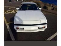LHD CHRYSLER CONQUEST TSI WHITE AKA MITSUBISHI STARION 2.6 TURBO LEFT HAND DRIVE