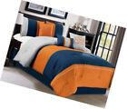 California King Orange Comforter Sets