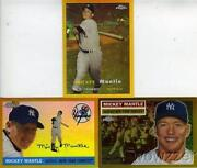 Mickey Mantle Gold Refractor