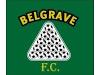 Belgrave FC P&D Football Team looking for players