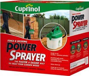 Cuprinol FDPS Fence, Decking & Shed Power Paint Sprayer NEW FREE P&P