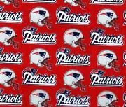New England Patriots Fabric