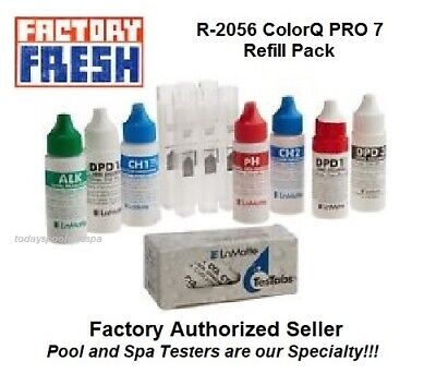 LaMotte R-2056 ColorQ PRO 7 Refill Pack, CH-2 Exp 10/2018 or later