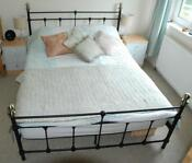 Used King Size Metal Bed Frame