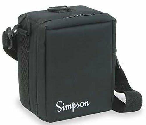 Simpson 00834 Case, Polyester Padded, Black, 260