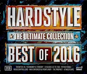 Hardstyle - Best Of 2016 - Various Artists (NEW 3CD)