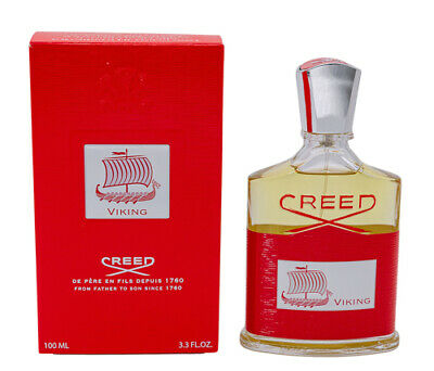 Viking by Creed 3.3 oz EDP Cologne for Men New in Box