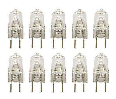 Vstar G8 120V 25W Halogen Light Bulbs(10 Pcs)
