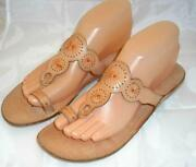 Leather Toe Ring Sandals