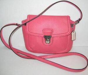 Pink Coach Poppy Purse