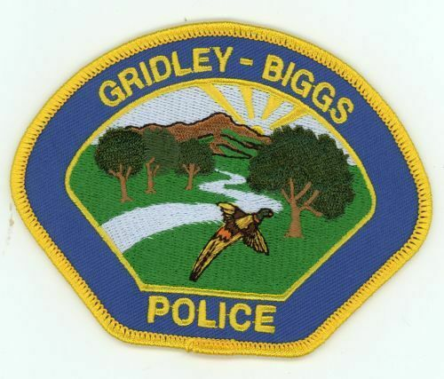 CALIFORNIA CA GRIDLEY BIGGS POLICE NEW PATCH SHERIFF STYLE 3 OF 4