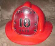 Leather Fire Helmet