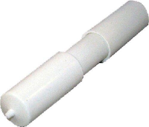 Eyckhaus Ersatzrolle mit Feder 115 mm weiß Toilettenpapierhalter Rollenhalter