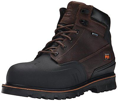 Timberland PRO Men's 6 Inch Rigmaster XT Steel Toe WP Work Boot, Brown Tumble...