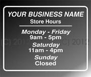 Custom Store Sign