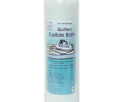 """June Tailor Fusible Quilt Batting (Polyester) - Single Size 72"""" x 90"""""""