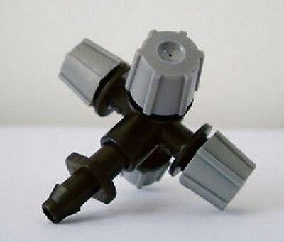 10pcs greenhouse micro sprinker head misting cross atomizing nozzle/four export