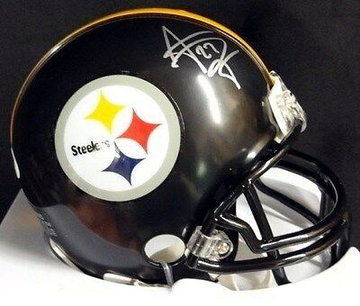 JONATHAN DWYER AUTOGRAPHED SIGNED PITTSBURGH STEELERS MINI HELMET PSA/DNA
