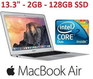 REFURB APPLE MACBOOK AIR 13.3 PC - 119059539 - CORE 2 DUO 128GB SSD 2GB OSX LATE 2010 VERSION LAPTOP COMPUTER PC INTEL