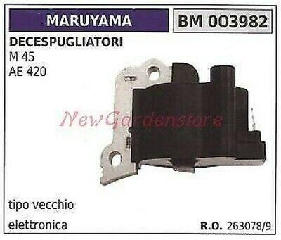 Bobina de Encendido MARUYAMA Para Motor Desbrozadoras M 45 AE 420 003982