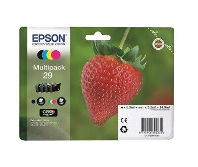 Epson 29 Erdbeere Multipack Original Druckerpatronen Tinte (4-farbig)