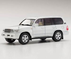 Toyota Land Cruiser 100 pearl white 1:43 Kyosho 03640W - Poznan, Polska - Zwroty są przyjmowane - Poznan, Polska